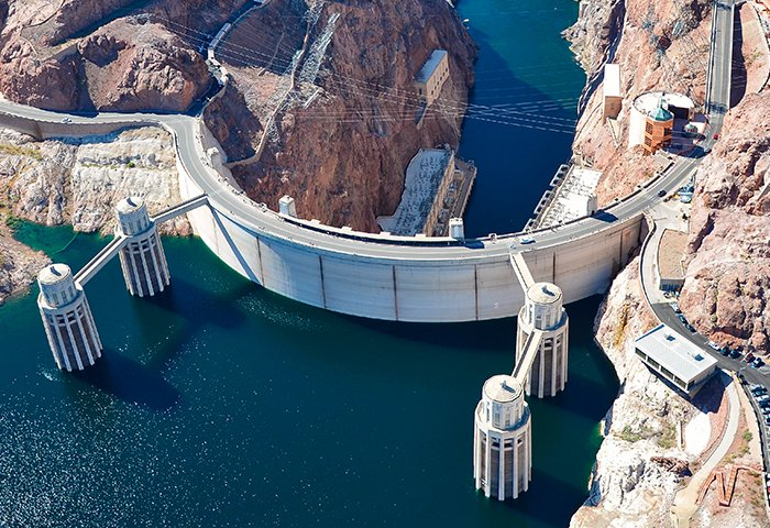Water Hoover Dam 700x480