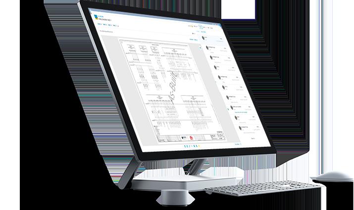 RedEye DMS on Microsoft Surface Studio